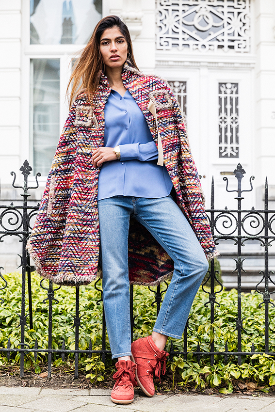 See by Chloe Multicolored Cape