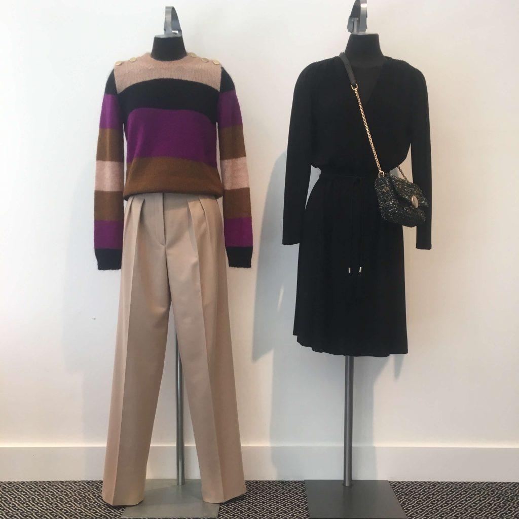 vanessa bruno dress and pull