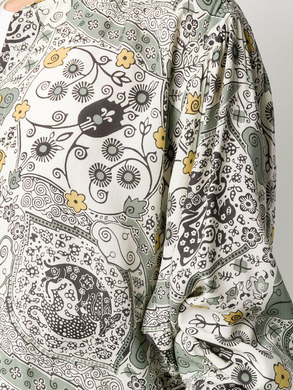Isabel Marant Catchell shirt detail