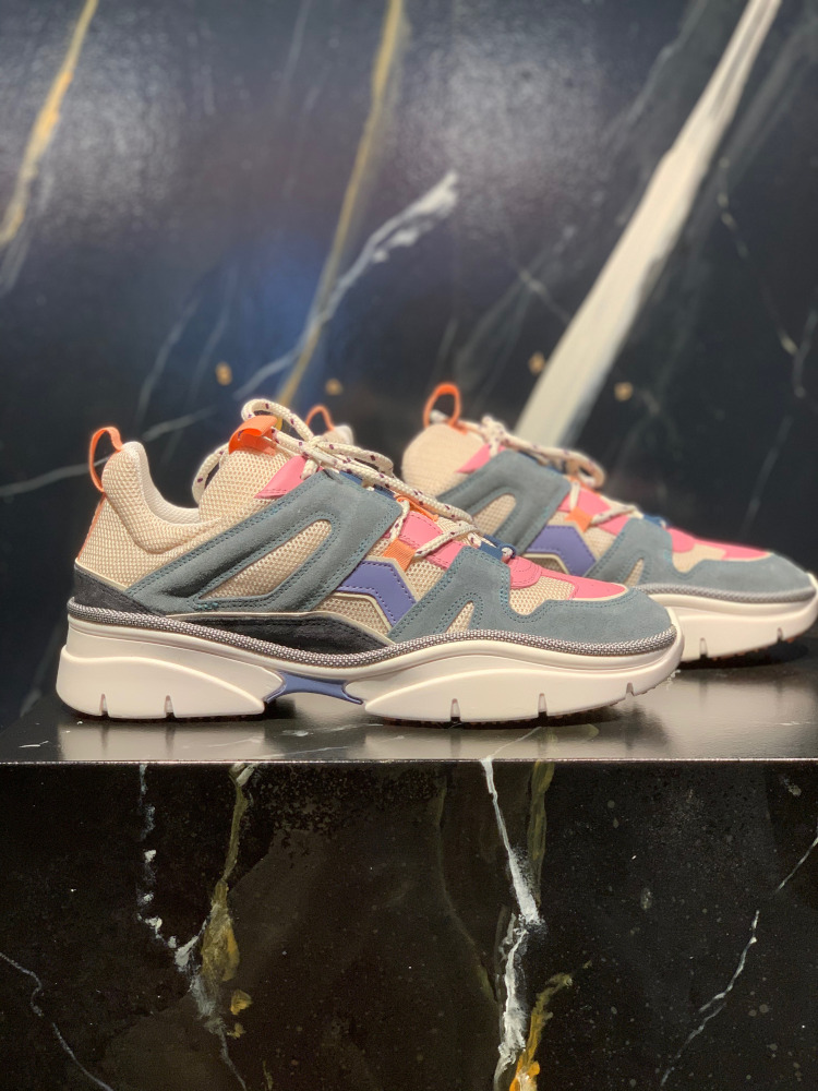 Kindsay sneakers from Isabel Marant in greyish blue