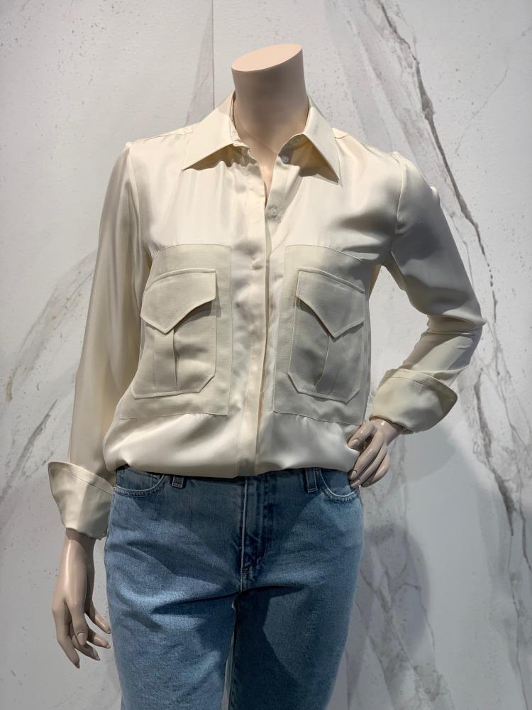 Victoria Beckham pocket shirt